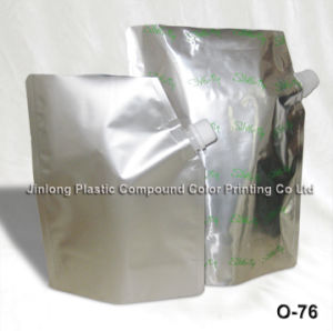 Foil Spout Bag with Bottom Gusset pictures & photos