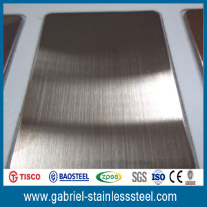 Double 201 304 Stainless Steel Color Sheet pictures & photos