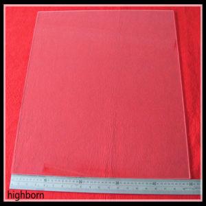 Square Clear Big Size Fused Quartz Glass Sheet pictures & photos