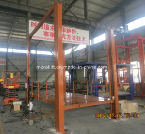 Hydraulic Garage Used Four Post Car Lift for Sale pictures & photos