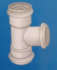 UPVC Pipe Fittings Socket Spigot Tee