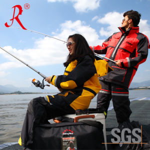 Sea and Ice Fishing Quilted Jacket for Winter (QF-9051A) pictures & photos