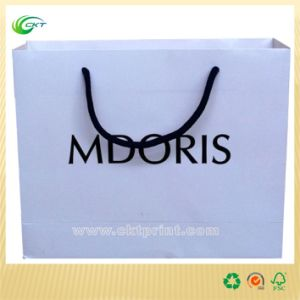 Luxury Jewelry Paper Shopping Bags with Custom (CKT-PB-374)