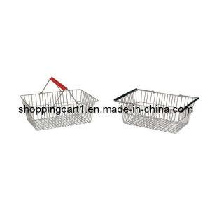 Metal Shopping Basket (XYB-034)