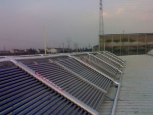 Solar Hot Water Project Collectors pictures & photos