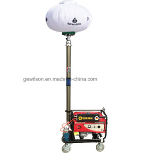 Illuminated Gasoline Generator Mobile Small Light Tower pictures & photos