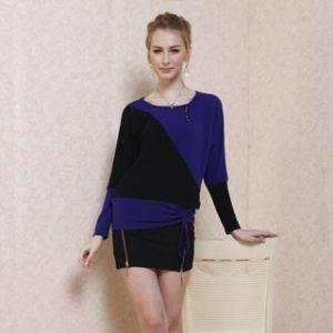 Fashion Ladies′ Cotton Tops (11s182)
