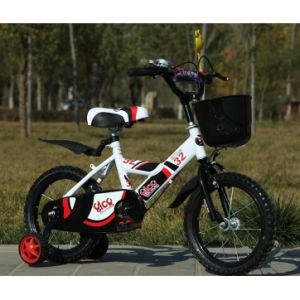 Wholesale China Children Bicycle 12′′, 14′′, 16′′, 18′′ White with Red pictures & photos