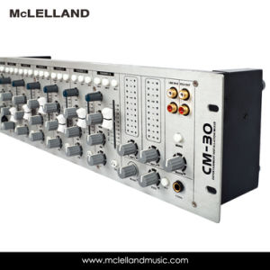 19′′ Rack Mounted Entertainment Installation Mixers with 6 Channel / Audio Mixer (CM-30) pictures & photos