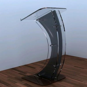 Acrylic Pedestals and Display Stand (Oval Tubular Pedestals
