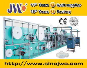 Full Servo Sanitary Napkin Production Line Manufacturer Jwc-Kbd-Sv pictures & photos