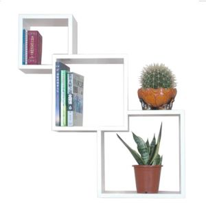 Wall Cube Shelf / Wooden Floating Shelf / Cube Wall Shelf (HP3333)