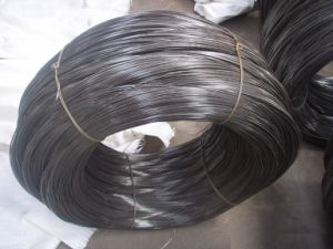Low Carbon Steel Black Iron Wire in Gauge 11 for Daily Use pictures & photos