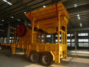 Mobile Jaw Crushing Station pictures & photos