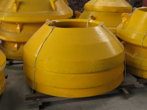 Low Price and High Quality Cone Crusher Concave Mantle pictures & photos