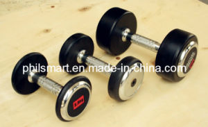 Hotsell Rubber Fitness Dumbbells pictures & photos