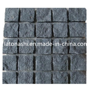 Natural Black Basalt Paving Cobble Stone for Driveway, Garden, Landscape pictures & photos