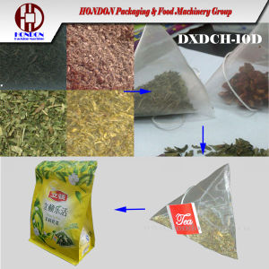 Pyramid Tea Bag Packing Machine (DXDCH-10D) pictures & photos