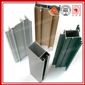 Powder Coated Aluminum Extrusion Profile for Window and Doors pictures & photos