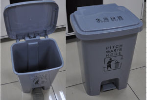 L500*W410*H820mm Plastic Dustbin Used for Home pictures & photos