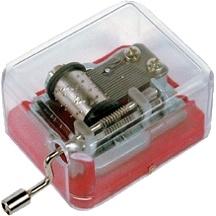 Handcrank Plastic Music Box for Promotion
