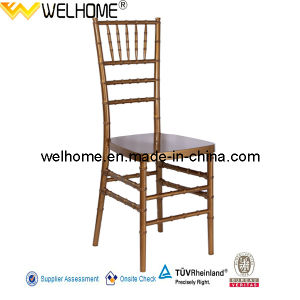 PC Material Gold Resin Tiffany Chair/Chiavari Chair for Party/Wedding/Event pictures & photos