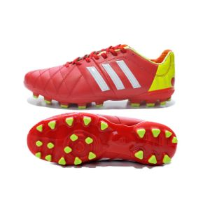 Wholesale Kangaroo Skin Red Football Shoe Brazil World Cup Adi Soccer Shoe Male pictures & photos