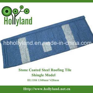 Stone Coated Metal Roofing Tile (Shingle Tile) pictures & photos