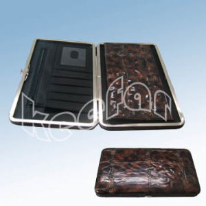 Flat Wallet With Checkbook Holder (MIW18)
