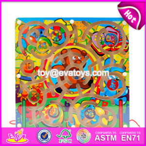 New Products Develop Intelligence Children Toy Wooden Magnetic Maze Board W11h020 pictures & photos