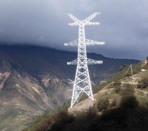 660kv Transmission Angle Steel Tower