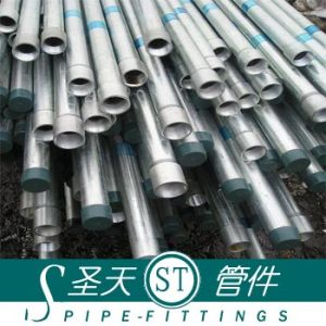Galvanized Round Steel Pipe (DN15~DN500) pictures & photos