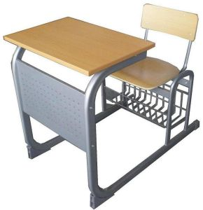 Popular Single Desk with Chair (GM0803) pictures & photos