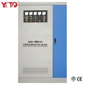 SBW-250k Three Phases Fully Automatic Compensated Voltage Stabilizer