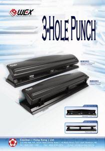 Fixed & Adjustable 3 Hole Punch (11-1009-30 / 11-1213-30 / 11-1137-30 / 11-1212-30)