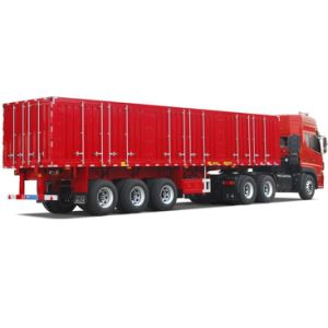 ISO CCC Approved 3 Axles 33t Stake Truck Semi Trailer pictures & photos