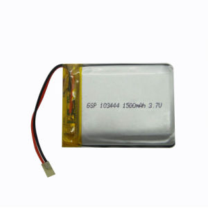 Rechargeable Polymer Li-ion Battery (GSP103444)