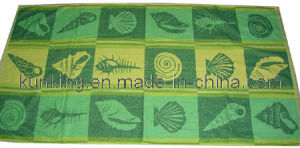 100% Cotton Shell Stripe Bath Towel