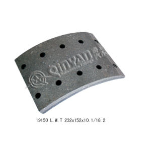 Heavy Duty Truck/ Trailer Mountain Brake Lining (19150) pictures & photos