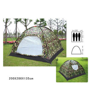 Military Tent for 3 Person, Camouflage Tent, Camo Tent, Army Tent pictures & photos