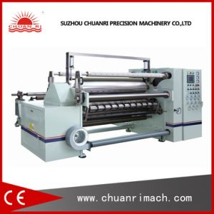 Jumbo Roll Al Foil, Aluminium Foil Slitting and Rewinding Machine with PLC pictures & photos