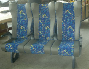 Conjoined Seat Interurban Coach Train Car Passenger Seat