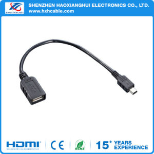 USB Mini Connector Female to Female Cable Adapter pictures & photos
