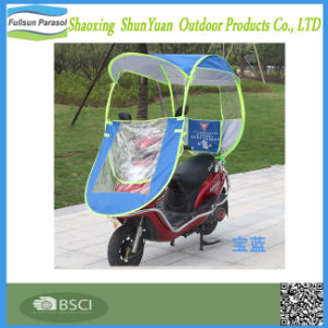 Electric Motorcycle Folding Awning Rainproof Windproof Umbrella
