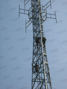 Durable Tubular Mast Steel Tower