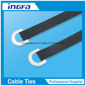 High Tensile Strength Epoxy Full Coated Ball Locked Stainless Steel Cable Ties pictures & photos