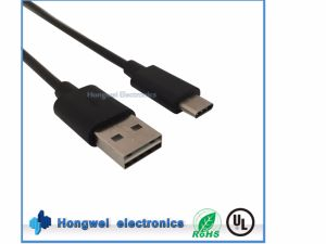 Charging Data USB 2.0 a Male 3.1 Type C Cable pictures & photos