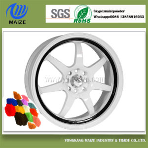 Customized Color Powder Coating for Car Wheel Rim