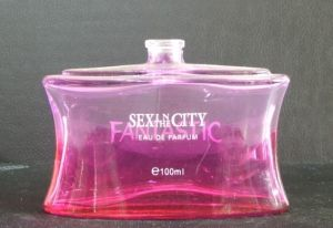 Beautiful Color Glass Pink Perfume Bottle for Women Perfume pictures & photos