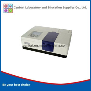 Lab Equipment 2nm Bandwidth UV Vis Double Beam Spectrophotometer UV1902 pictures & photos